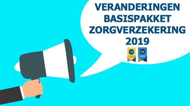 Veranderingen basispakket zorgverzekering 2019